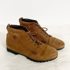 Timberland | Brown Leather Working Boots 9M